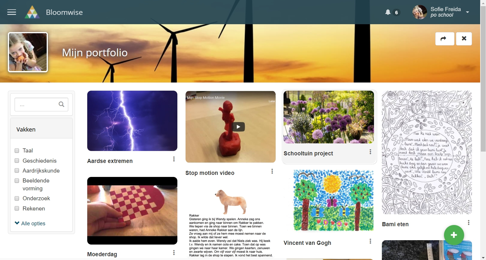Bloomwise portfolio